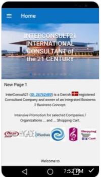 InterConsult21s Android Mobile App. Get it from Google Play.